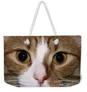 Cats Face Weekender Tote Bag