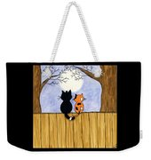 Cats Night Out Weekender Tote Bag
