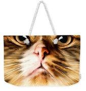 Cat's Perception Weekender Tote Bag