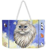 Cats Purrfection Four - Persian Weekender Tote Bag