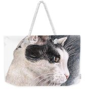 Cats View Weekender Tote Bag