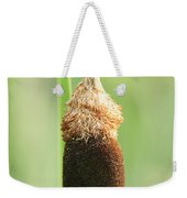 Cattail Face Weekender Tote Bag
