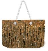Cattail Marsh Weekender Tote Bag