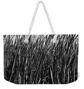 Cattail Reed Background Weekender Tote Bag