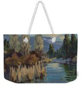 Cattails At Harry's Pond 1 Weekender Tote Bag