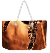 Cattails On Fire Weekender Tote Bag