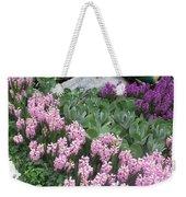 Catterpillar Large Flower Garden Vegas Weekender Tote Bag
