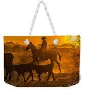 Cattle Drive 13 Weekender Tote Bag