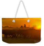 Cattle Drive 20 Weekender Tote Bag