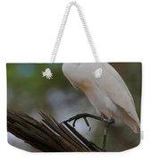 Cattle Egret Weekender Tote Bag