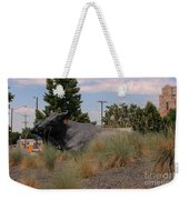 Cattle In Downtown Denver Weekender Tote Bag