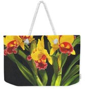 Cattleya Orchid Weekender Tote Bag by Richard Harpum