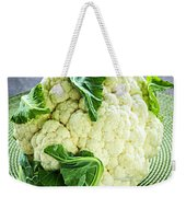 Cauliflower Weekender Tote Bag