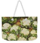 Cauliflower March Weekender Tote Bag by Jen Norton