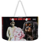 Cavalier King Charles Spaniel Art -some Like It Hot Movie Poster Weekender Tote Bag