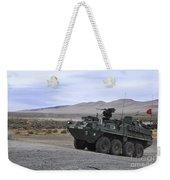 Cavalry Troopers Fire Weekender Tote Bag