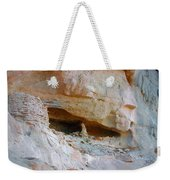 Cave Dwelling Where Pictograms Were Found Weekender Tote Bag