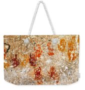 Cave Of A Thousand Hands Weekender Tote Bag