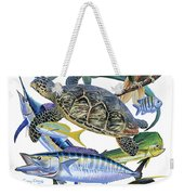 Cayman Collage Weekender Tote Bag