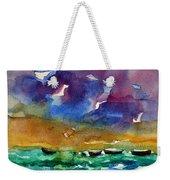 Cayman Color Water Weekender Tote Bag