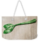 Ceci N'est Pas Une Cuillere By Neo Weekender Tote Bag