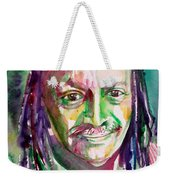 Cecil Taylor - Watercolor Portrait Weekender Tote Bag