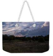 Cedar Park Texas Cedar And Clouds Sunset Weekender Tote Bag