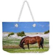 Cedar Island Wild Mustangs 59 Weekender Tote Bag