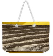 Cedar Plank On Yellow Weekender Tote Bag