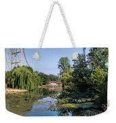 Cedar Point Ohio Weekender Tote Bag