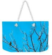 Cedar Wax Wings Weekender Tote Bag