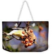 Cedar Waxwing - Img_9760-004 Weekender Tote Bag