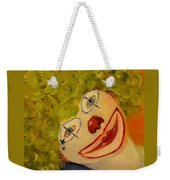 Cee-cee, Child Clown  Weekender Tote Bag