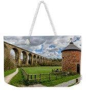 Cefn Viaduct Weekender Tote Bag by Adrian Evans