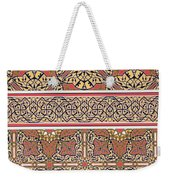 Ceiling Arabesques From The Mosque Of El-bordeyny Weekender Tote Bag