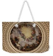 Ceiling Fresco - Cupola Capitol Washington Dc Weekender Tote Bag