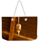 Ceiling Light Weekender Tote Bag