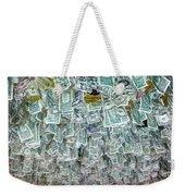Ceiling Of Dollar Bills  Weekender Tote Bag