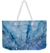 Jagged Ceiling Of Paradise Ice Cave Weekender Tote Bag