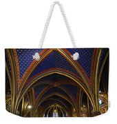 Ceiling Of The Sainte-chapelle  Paris Weekender Tote Bag