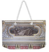 Ceiling Study Chateau De Chantilly Weekender Tote Bag