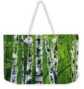 Celadon Spring Weekender Tote Bag