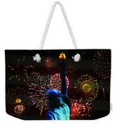 Celebrate America Weekender Tote Bag by Bill Cannon