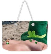 Celebrate St Pattys Day Weekender Tote Bag
