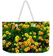 Celebration Of Yellows And Oranges Study 3 Weekender Tote Bag