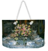 Celebration Table Weekender Tote Bag
