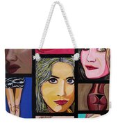 Celebrity Weekender Tote Bag