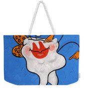 Celebrity Tooth Implant Dental Art By Anthony Falbo Weekender Tote Bag