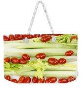 Celery And Tomatoes Weekender Tote Bag