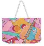 Cellist Weekender Tote Bag